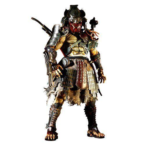 Hot Toys Japan ALIEN VS PREDATOR AVP SAMURAI PREDATOR Japanese sword 1 6 Figure