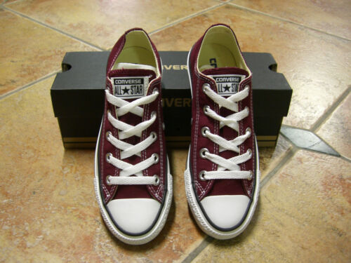 Star Maroon All Neu Chucks 41 M9691c Größe Sneaker Ox Top Converse Weinrot EqYW7gW