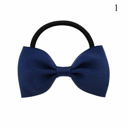1PCS Baby Kids Girls Hair Band Ties Rope Ring Elastic Hairband Ponytail Holder@