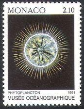 Monaco 1991 Marine/Plankton/Fish/Nature/Oceanographic Museum 1v (n41517)