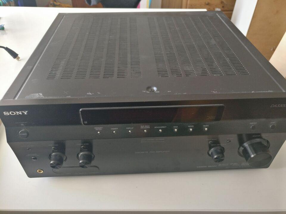 Forstærker, Sony, STR DA3300ES