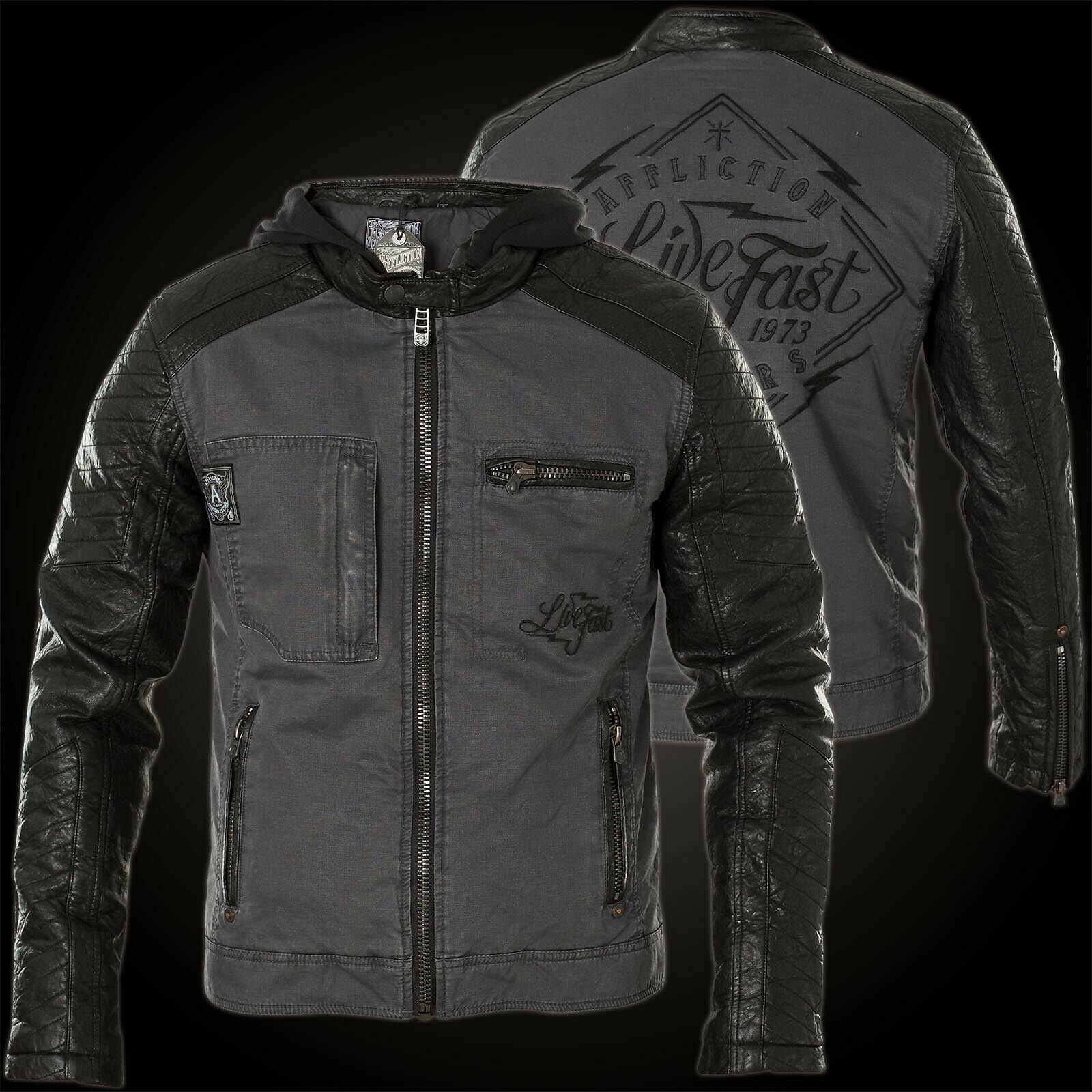 Affliction Jacket Speed Hunter Black