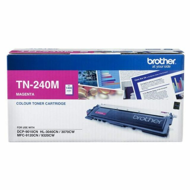 Genuine Brand New Brother TN-240M Toner MAGENTA