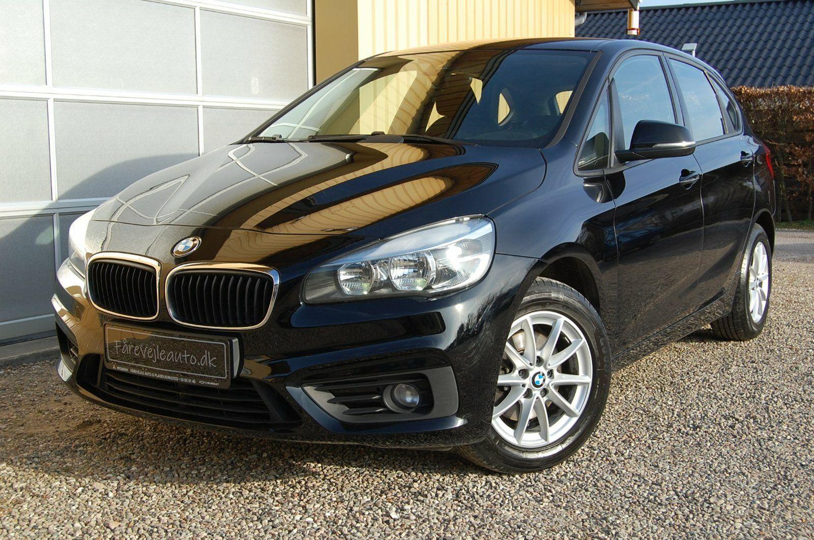 BMW 218d 2,0 Active Tourer 5d - 199.800 kr.