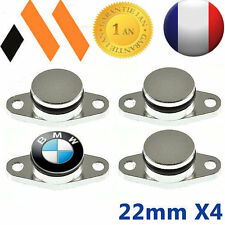 4 BOUCHONS CLAPET D'ADMISSION  22 MM BMW SWIRL FLAP E46 E90 E91 E92 E60   X5