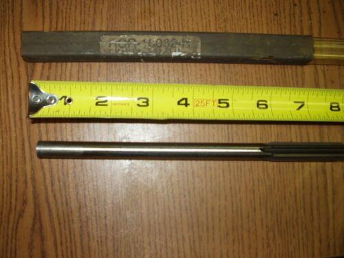 "Made in USA Cobalt HSS Reamer  1//2"" B6  Straight FLT Straight Shank  8/"""