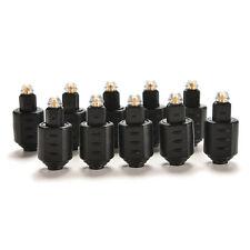 Mini Optical Audio Adapter 3.5mm Female Jack Plug to Digital Toslink Male Cable