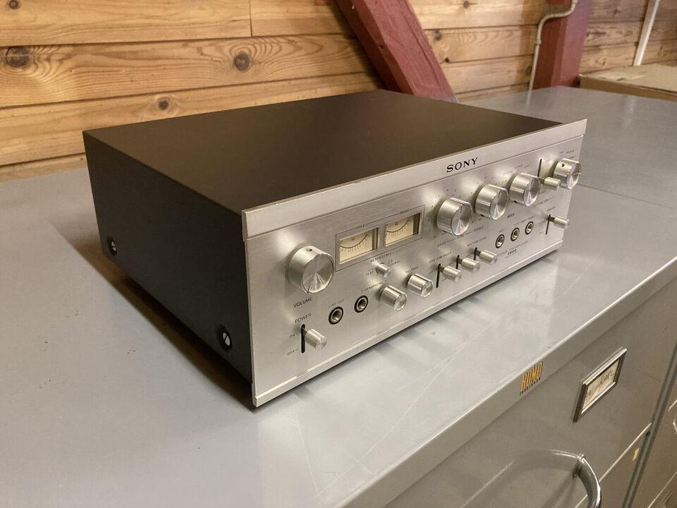 Sony TA-2000 – vintage High End forforstærker