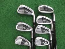 Henrik Stenson CALLAWAY Legacy Black 7pc Tour-AD S-flex IRONS SET Golf Clubs