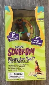 Electronic Game NIB NEW NIP Pressman Scooby Doo Where Are You!
