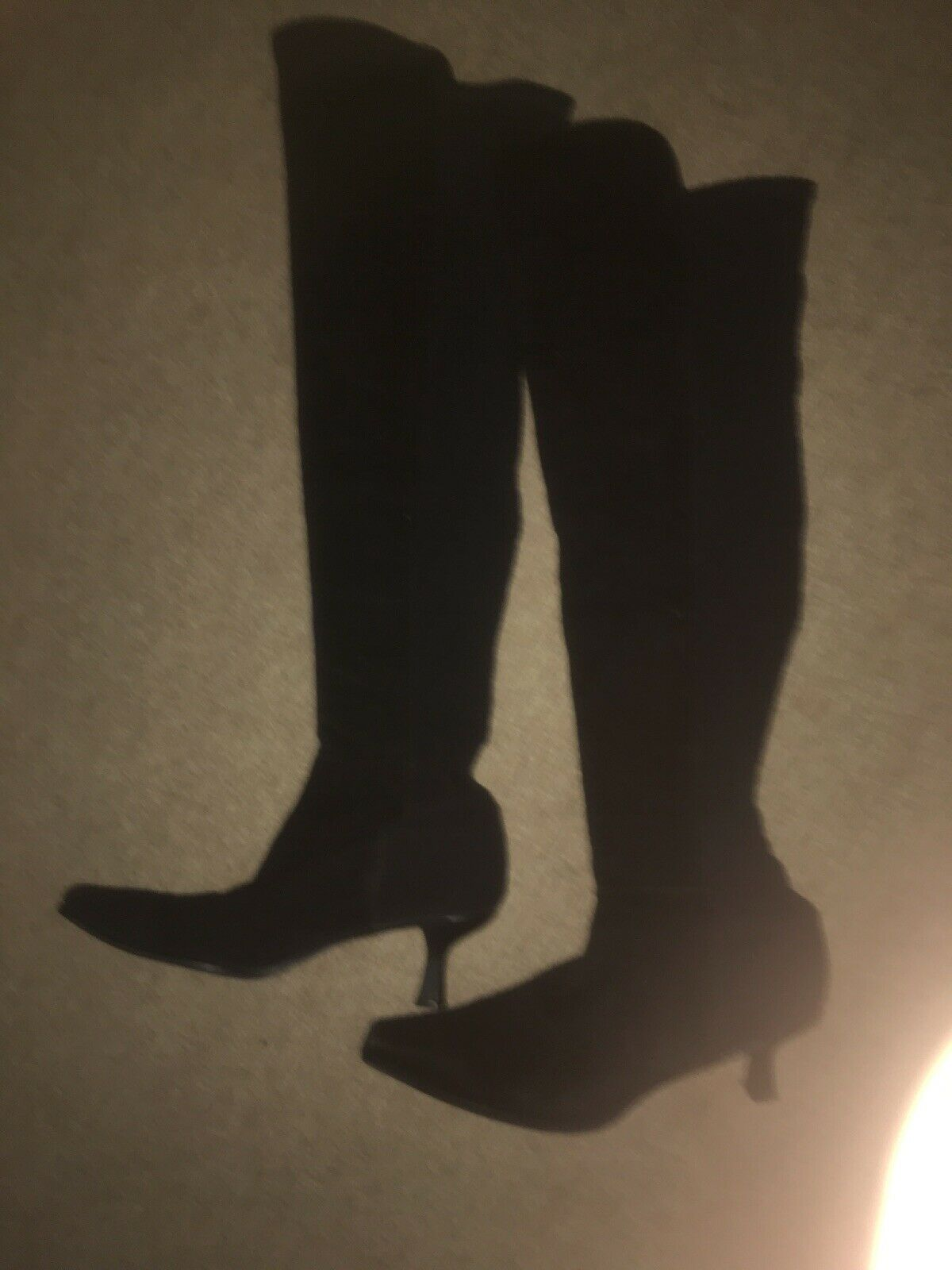 Stuart Stuart Stuart Weitzman sobre la rodilla botas 9, Tacón Gatito  precios mas baratos