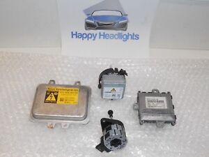 Oem Hella Bmw 7 Series Xenon Hid Ballast D2s Bulb Igniter Afs Module Motor Set Ebay