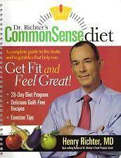 Dr-Richter-039-s-Common-Sense-Diet-Henry-Richter-paperback-book-new