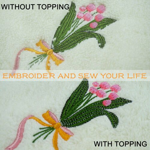 """10/"""" x 3 Yd Roll Wash Away//Water Soluble Embrioidery Stabilizer for Embroidery"""