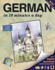 GERMAN in 10 minutes a day®, Kershul, Kristine K., Very Good Book