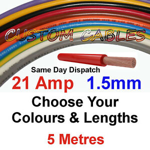 5m-1-5mm-21A-16-AWG-12v-AUTO-CABLE-21-AMP-CAR-WIRING-LOOM-WIRE-AUTOMOTIVE