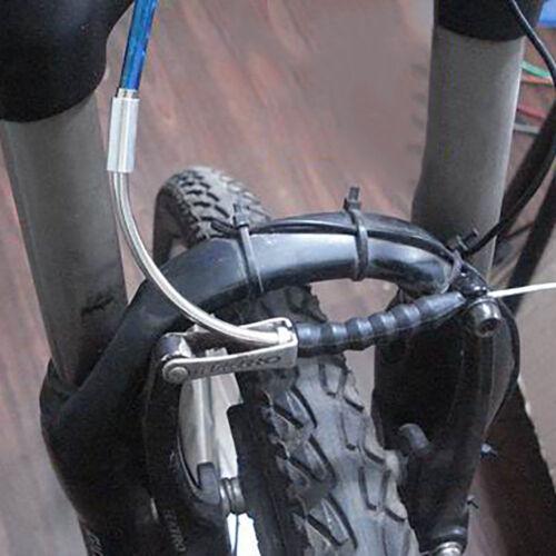 Aluminum Bicycle Cycling V-Brake MTB Aluminum Brake Pipe Noodle and Boot Set