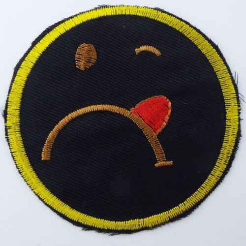 Emoji Icon And Ying Yang Iron On Motif Patch Basic Quality Costume Jean Cushion