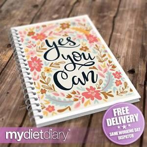 Lebensmittel-Tagebuch-Weight-Watchers-kompatibel-Yes-You-Can-w034w-12wk-Journal-Tracker