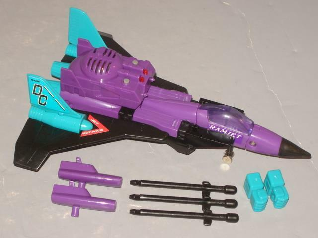G2 TRANSFORMER DECEPTICON RAMJET COMPLETE LOT   3 LOTS OF PICS  CLEANED
