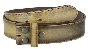 Vintage-Distressed-Style-Genuine-Leather-Casual-Belt-Strap-1-1-2-034-Wide-TAN