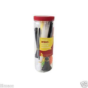 500pc-attaches-de-cables-couleurs-assort-auto-verrouillage-fermeture-eclair-cravate-bleu-rouge-vert