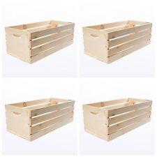 Beau Item 4 Large Wood Wooden Crate Box 4 Craft Storage Decorative Boxes Lot  Vintage Style  Large Wood Wooden Crate Box 4 Craft Storage Decorative Boxes  Lot ...