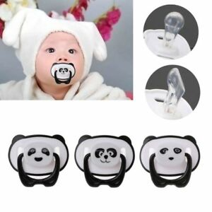 New-Panda-Newborn-Baby-Silicone-Orthodontic-Soother-Dummy-Pacifier-Infant-Nipple