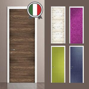 Decorazioni Adesive Porte Interne.Wall Sticker Adesivi Decorazione Porta Su Misura Sfondi Vari