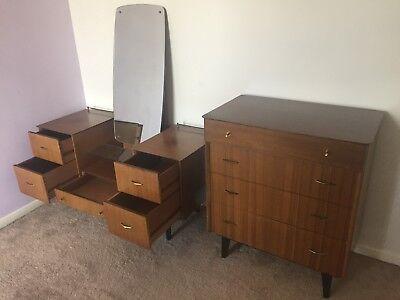 Limelight 1950s Retro Bedroom Furniture, Vintage Bedroom Furniture 1950s