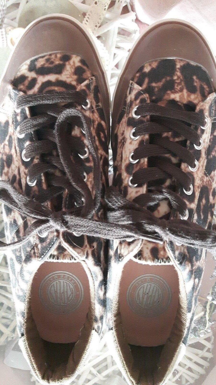 Replay Sneaker/Halbschuh/Freizeitschuh/NEU/Gr. 40 Leooptik Leooptik 40 wie neu 59fe3c