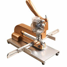 Automatic File Bag Eyelet Punching Machine 3mm 55mm Desktop Buttonhole Machine