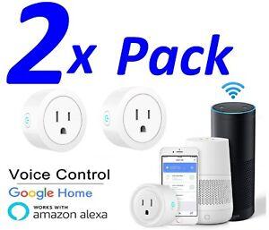 2x-Smart-Mini-WiFi-Plug-Outlet-Switch-arbeitet-mit-Amazon-Alexa-Google-Home-ifttt