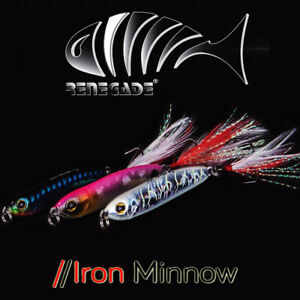 Fishing-lures-Renegade-Iron-Minnow-12g-range-of-colors