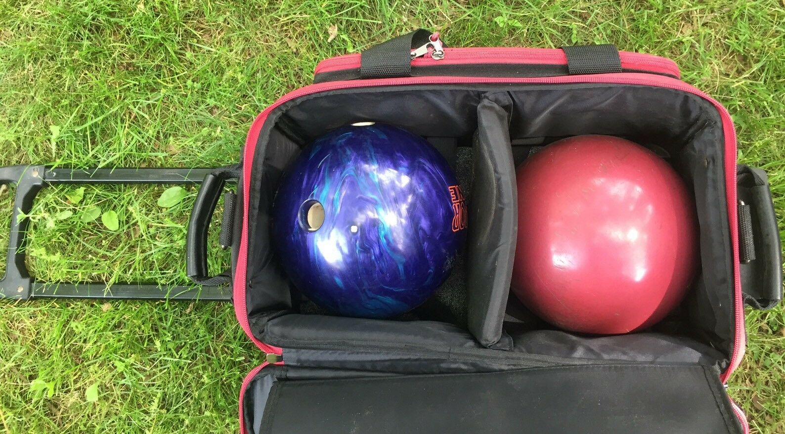 BSI Prestige Series Bowling Ball Two With Bag And Woman Dexter shoes