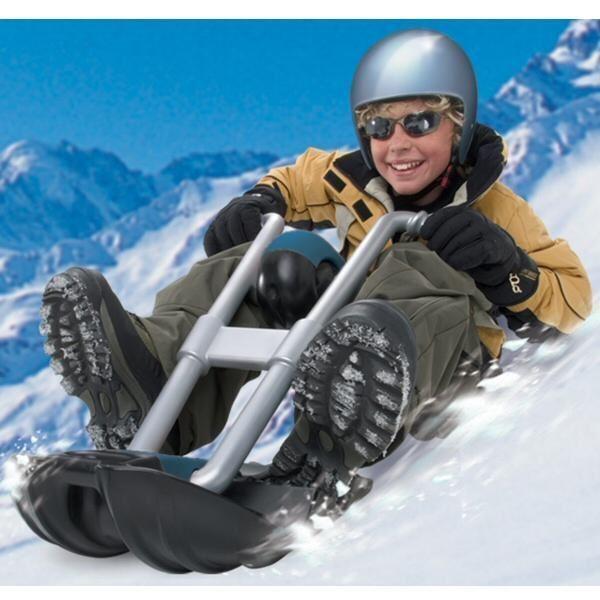 Kid's Riding Snowmobile  Snow Sled Bike  happy shopping