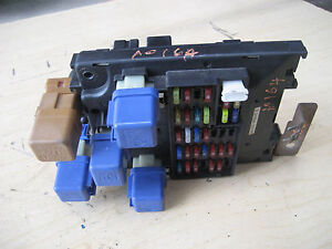 98 nissan altima interior fuse box with relay ebay rh ebay com