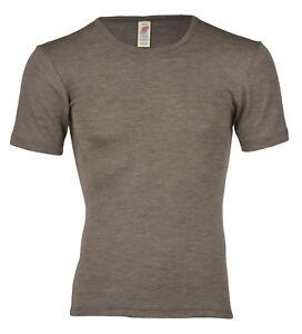 Engel-Natur Damen Unterhemd Achselhemd Shirt GOTS zertifiziert Bio schwarz