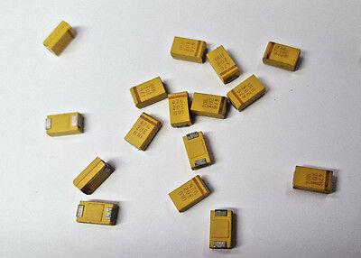 47uf 20v Tantalum Chip Capacitor 20/%  SMD 935 LOT OF 20