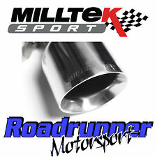 "Milltek SSXVW179 Golf GTI MK6 ED35 3"" Turbo Back RACE Exhaust & Decat Downpipe"