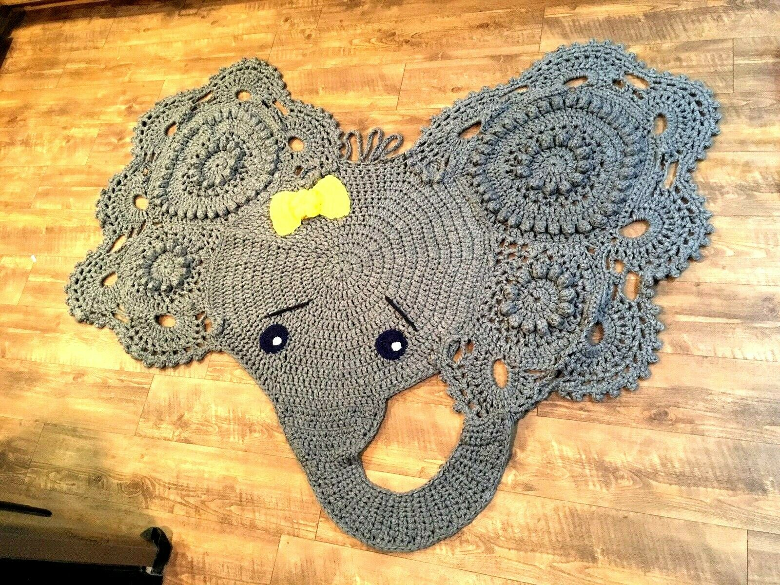 crocheted-elephant-rug-inspiration-gallery-from-cute-elephant-rug ... | 1200x1600
