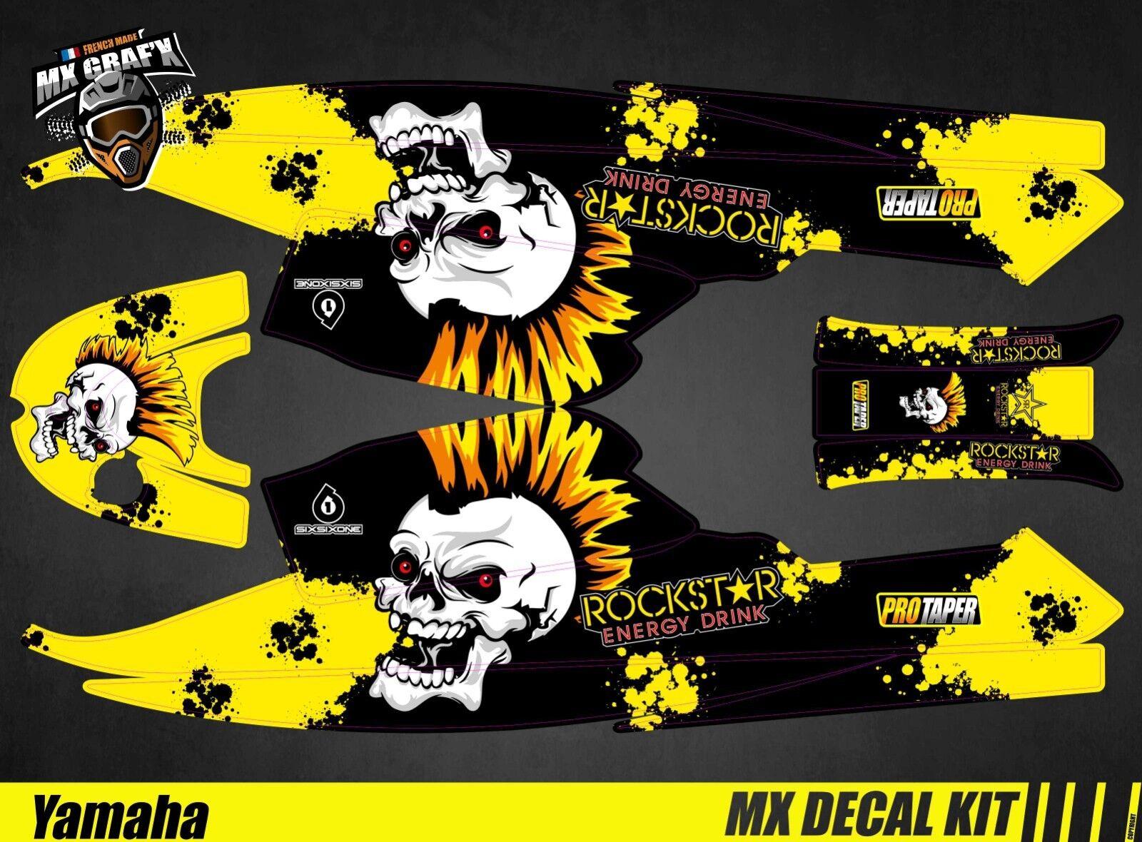 Kit para   Decal Kit para Jet Esqui Yamaha Super Jet - Punk Cráneo