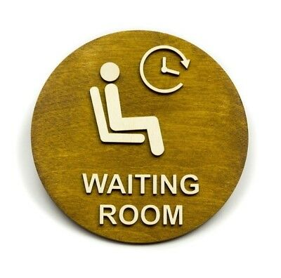Co-working Queue at Workplace Office Hotel Waiting Room Sign Reception