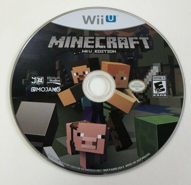 Minecraft: Wii U Edition (Nintendo Wii U, 2016) DISC ONLY