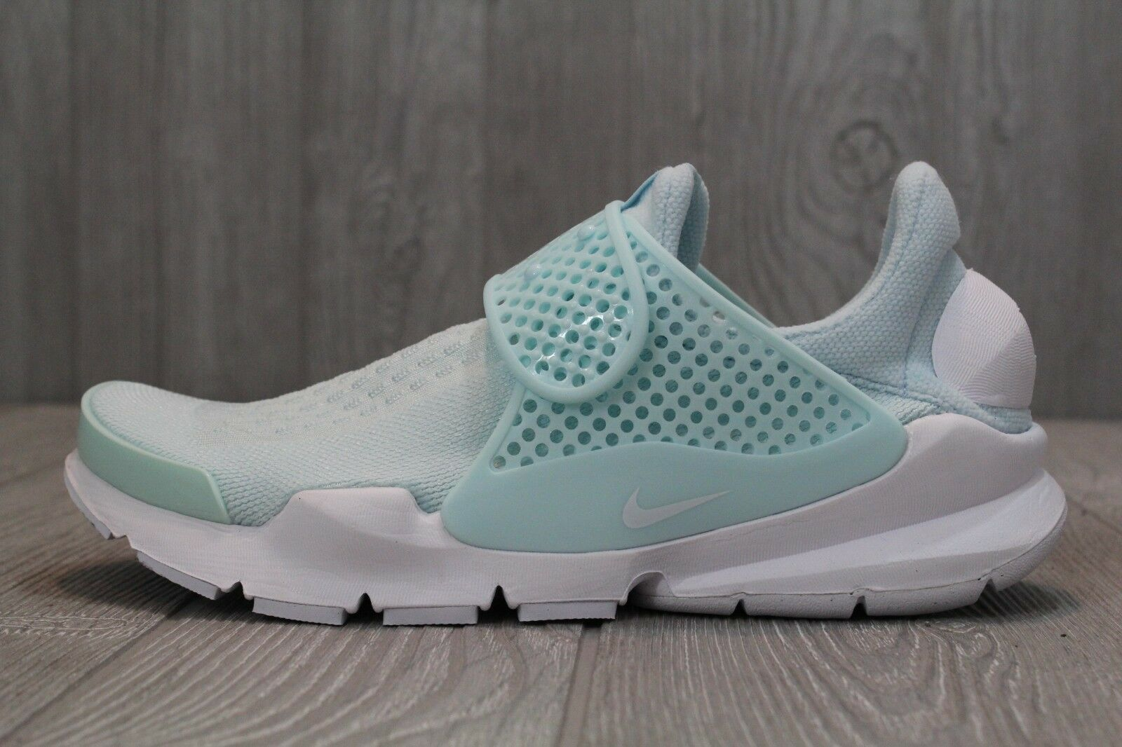 25 Nike Sock Dart Womens 848475-403 Glacier Blue Mesh Running Training Shoes 8