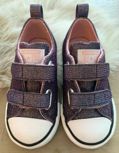 Converse All Star Toddler Girls Shoes New Size 7   eBay
