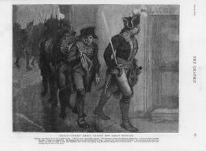 1874-Antique-Print-FINE-ART-Ninety-Three-Small-Armies-Great-Battles-249