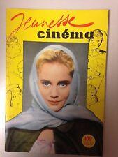 JEUNESSE CINEMA N°16 1959 COUV MARIA SCHELL