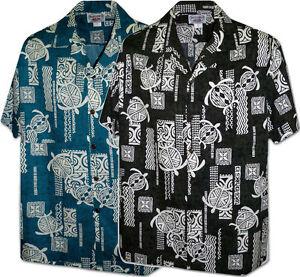 ce19a9c2 Image is loading Polynesian-Turtle-Pacific-Legend-Apparel-Hawaiian-Aloha- Shirts-