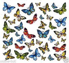 One Stroke Sticker,Tiere, Schmetterling,Tattoo, Aufkleber  Nr.1273